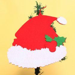 크리스마스 산타모자 트리장식품