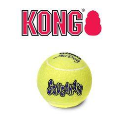 KONG 정품 강아지 콩장난감 테니스볼 S 분리불안 해소