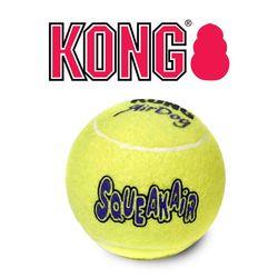 KONG 정품 강아지 콩장난감 테니스볼 M 분리불안 해소