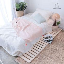 소나무 원목 침대 매트리스깔판 MS R033