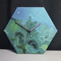 손그림 인테리어 벽시계-hc002