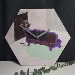 손그림 인테리어 벽시계-sj001