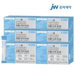 JW중외제약 포스트 프리프로바이오틱스 프롤린 모유유산균 6박스