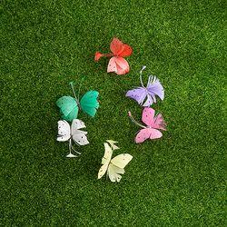 깃털 나비(소-6cm)