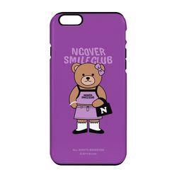 Handbag bruin-purple(tough.slide)