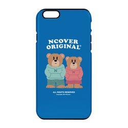 Couple hoodie bruin-blue(tough.slide)