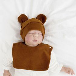 아기보넷 곰 브라운 아기 모자 신생아 보넷