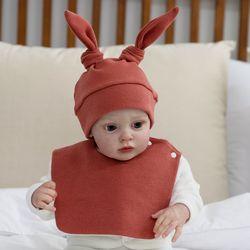 아기보넷 토끼 벽돌 아기 모자 신생아 보넷