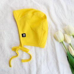 아기보넷 파일럿 옐로우 아기 모자 신생아 보넷