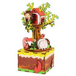 ROBOTIME 뮤직박스 나무위의집 TREE HOUSE AM408