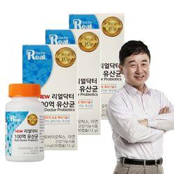 리얼닥터 100억 유산균(400mg x 30캡슐) 3개(3개월분)