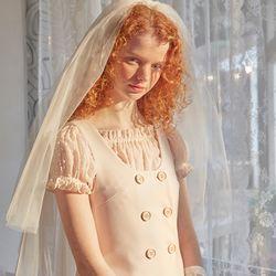 Mini Vest Dress Ivory
