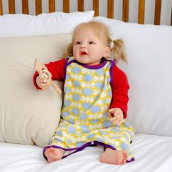 아기수면조끼 튤립 아기 조끼 신생아 수면조끼