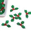 크리스마스 빨간열매 잎사귀(소30개 대20개)