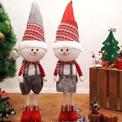 크리스마스 눈사람 인형(2p 1세트)