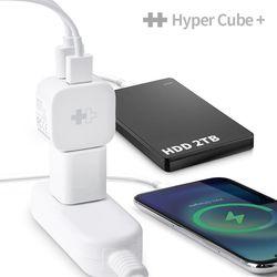 [해외직구] 하이퍼 큐브 스마트폰 자동백업 리더기