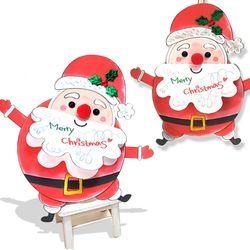 만들기 해피 산타 카드 (5set)