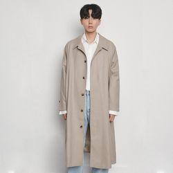M6617 hiden coat beige