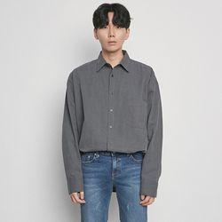 M6510 pig box shirts charcoal