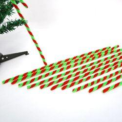 크리스마스 2색모루 (10개)