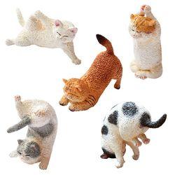 애니멀 라이프 베이비 요가캣 1박스6개입 고양이 야옹이피규어