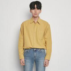 M3312 RU rinen shirts mustard