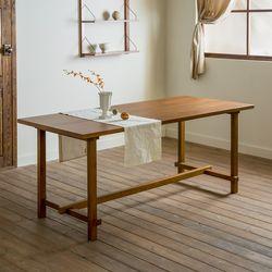 [스크래치]로사 원목 다이닝 식탁 테이블