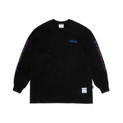 GALLOP OVERSIZED LONG SLEEVES T-SHIRTS BLACK