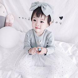 왕관 트윙클 유아 드레스 2종세트(3-24개월) 204038