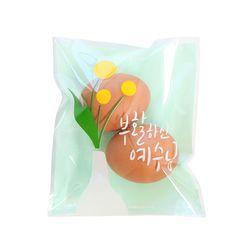 그레이스벨 부활절 2구 접착식비닐(30매)민트415