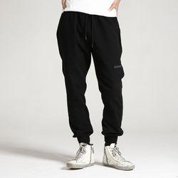 (UNISEX)Creamy Jogger Sweatpants(BLACK)