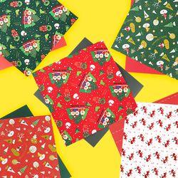 크리스마스 패턴지(25x25 10장)