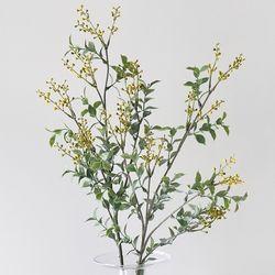 옐로 뱅크셔 그린 조화 부쉬(95cm)