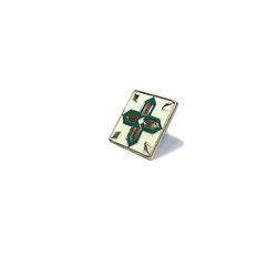 [키치쥬얼리] 레트로 패턴 뱃지 시리즈 6