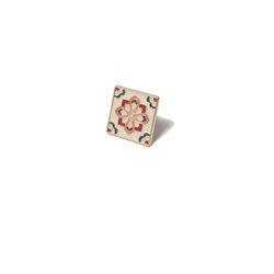 [키치쥬얼리] 레트로 패턴 뱃지 시리즈 4