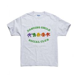 DANCING SMILE TEE (ASH)