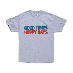 GOOD TIMES TEE (LIGHT STEEL)