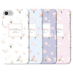 LG시리즈 G7 G8 V40 V50 X4 X6 벚꽃 슬림 하드 케이스