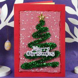 만들기 크리스마스 트리 카드(10set)