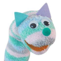 양말 손인형 만들기 세트 - 보들이 토끼(고양이)