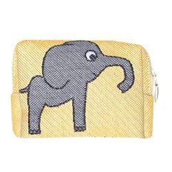 파우치M 코끼리 옐로우