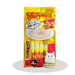 일본 INABA 챠오츄루 (닭가슴살+게) 14gx4개입 (pt)