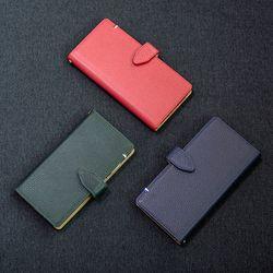 아이폰8플러스 7플러스 엠보 스냅 지갑형 케이스 버튼