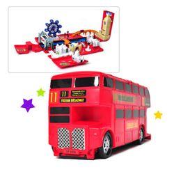 [모터맥스] 변신 런던버스 놀이세트 (17.5인치) (540M78118)