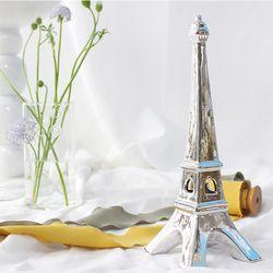 실버 모던 에펠탑 large