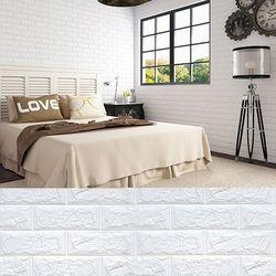 폼블럭A 화이트 230cm쿠션벽돌단열벽지벽돌시트