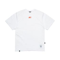 ART OVERSIZED T-SHIRTS WHITE