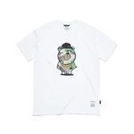 CAMOUFLAGE BEAR T-SHIRTS WHITE