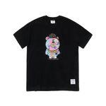 CAMOUFLAGE BEAR T-SHIRTS BLACK