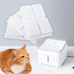 스퀘어 펫정수기 리필필터 1set 고양이정수기 식기